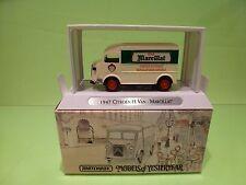 MATCHBOX YESTERYEAR YTF4 CITROEN H VAN 1947 - MARCILLAT -  1:43? - NMIB