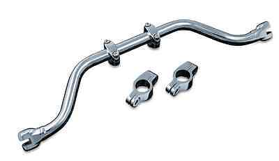 KURYAKYN CHROME ADJUSTABLE MUSTACHE BAR FOR 1991-2017 HARLEY DAVIDSON DYNAS 7503
