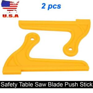 2-pcs-Plastic-Router-Table-Saw-Blade-Safety-Push-Stick-Woodworking-Tool-Set-USA
