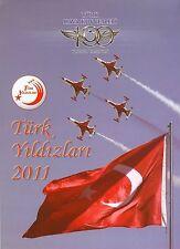 BROSCHÜRE AEROBATIC DISPLAY TEAM TURKISH STARS 2011