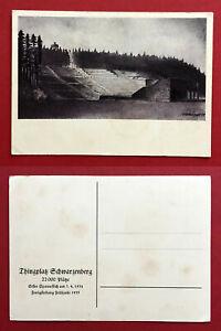Kuenstler-AK-SCHWARZENBERG-im-Erzgebirge-um-1935-Thingplatz-63438