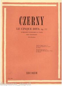 Czerny: Le Fingerhandschuhe Für Klavier Op.777, 24 Melodien(R) - Erinnerungen