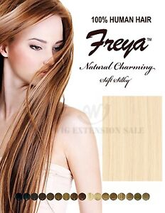 Image Is Loading Silky Remy Human Hair Weave Extension Amy Freya