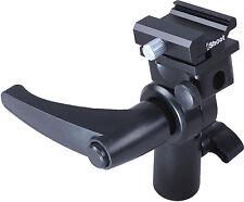Universal Metal Flash Holder Umbrella Bracket for Olympus FL-600R FL-50R FL-36R