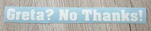 Greta-No-Thanks-Autoaufkleber-Sticker-Diesel-DUH-Oko-FFF-Fridays-Future