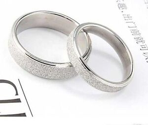Classic-3-5mm-silver-coloured-frosted-band-ring-multiple-sizes
