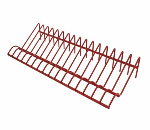 Abn Heavy-Duty Metal Multi Tool Holder Organizer Tray Rack In Red For 16 Pliers