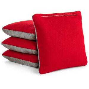 DURABLE WEATHERPROOF Cornhole Bags 4 Four Canvas Brown