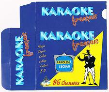 Karaoke CD+G, 86 Chansons Quebecoises. 5 CDG BRAND NEW at MusicaMonette, Canada