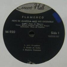 """Pepe De Almeria(7"""" Vinyl)Flamenco-Concert Hall-M 930-France-Ex/VG"""