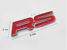 RS Sports 3D Metal Emblem Badge Logo Sticker For Car Chevrolet Camaro Ford Focus