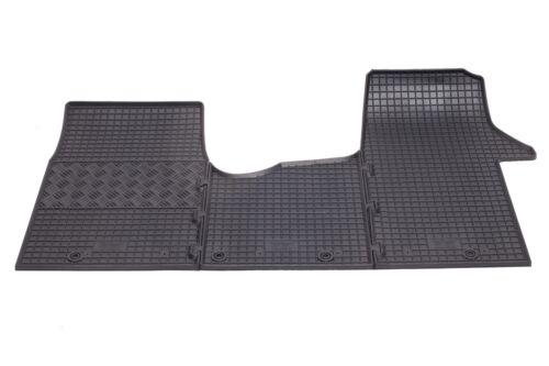 passgenau Fußmatten TOP Qualität OPEL VIVARO 9 Sitzer ab 2014 Gummifußmatten