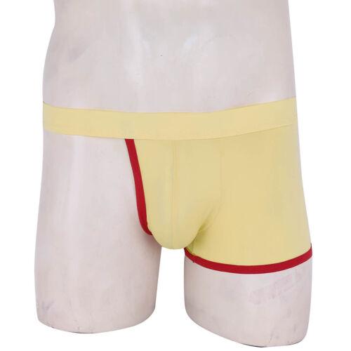Men/'s Backless G-String Bulge Pouch Jockstrap Underwear Thong Briefs Underpants