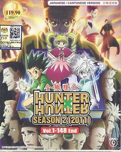 HUNTER-X-HUNTER-SEASON-2-2011-COMPLETE-ANIME-TV-SERIES-DVD-1-148-EPIS
