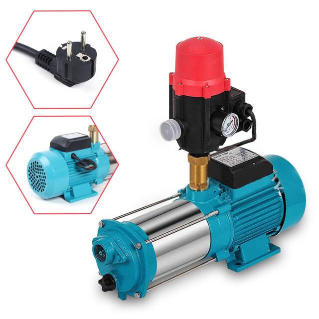 24 L Hauswasserwerk Hauswasserautomat Pumpe 1300W mit Druckschalter Gartenpumpe