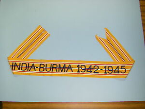 stm55 WW 2 US Army Flag Streamer Asatic-Pacific Guadal Canal 1942-1943