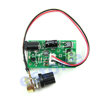 HOT! Pulse Width PWM DC Motor Speed Regulator Controller Switch 6V 12V 24V 3A
