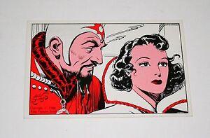 2-Vintage-Flash-Gordon-Kitchen-Sink-Card-1988-KFS-New-NOS-15-Ming
