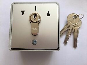 Roller shutter key switch ip54 16 amp geba ebay image is loading roller shutter key switch ip54 16 amp geba asfbconference2016 Gallery