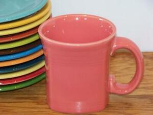 Fiesta-FLAMINGO-13-oz-Square-Mug-Discontinued-Item-amp-Color