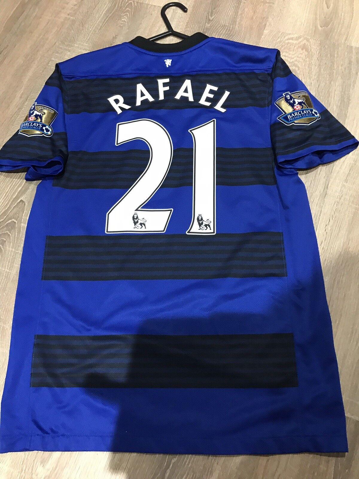 Manchester United United United 2011 12 Away Camicia Adulti (S) 21 Rafael 932a80