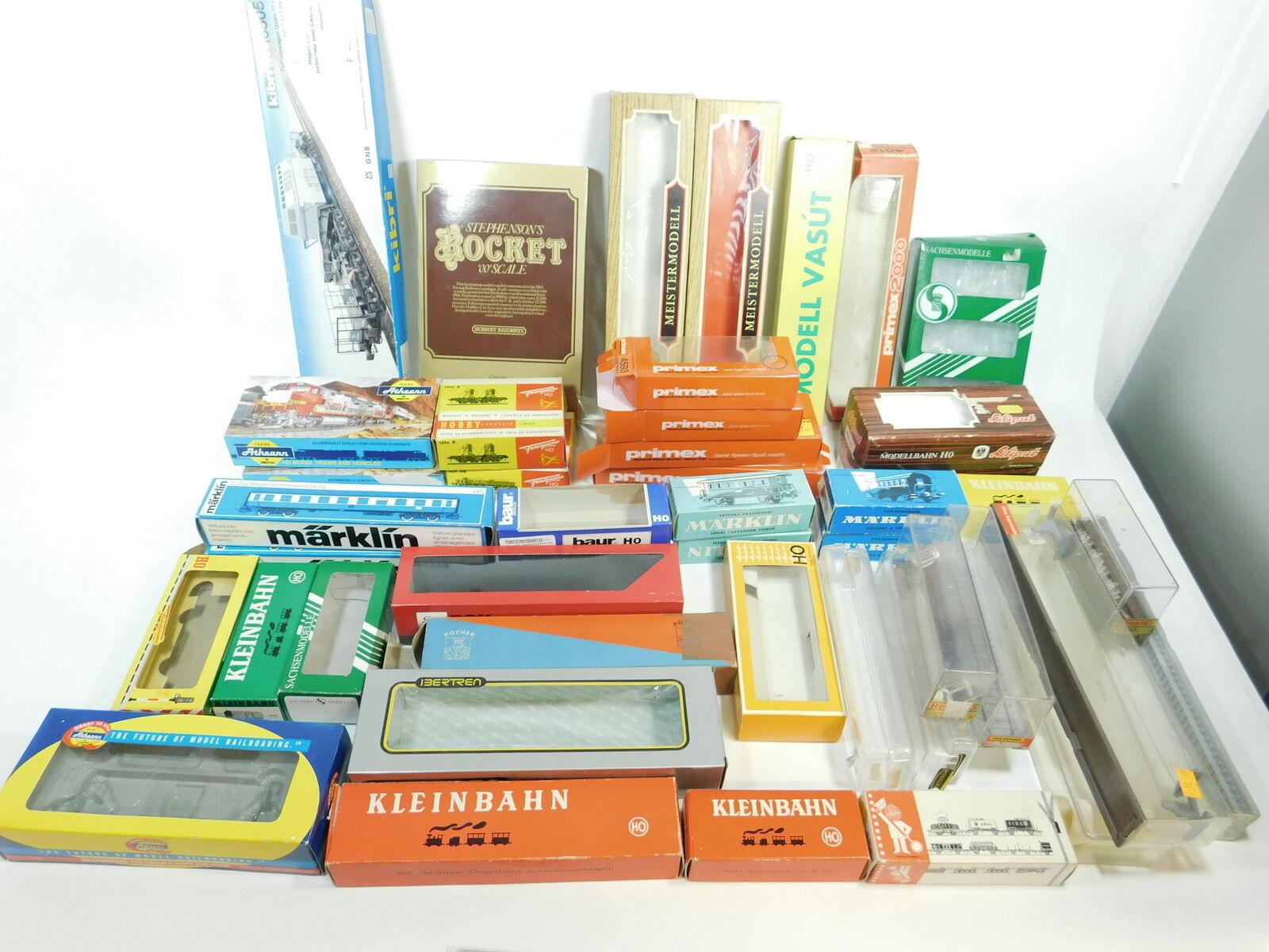 Bg908-4  45x h0 Empty Box (Liliput, Fleischmann, Marklin etc), Hobbyist s.g.