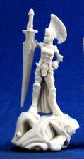 1 x PALADIN FEMALE - BONES REAPER figurine miniature rpg guerrier femme 77302