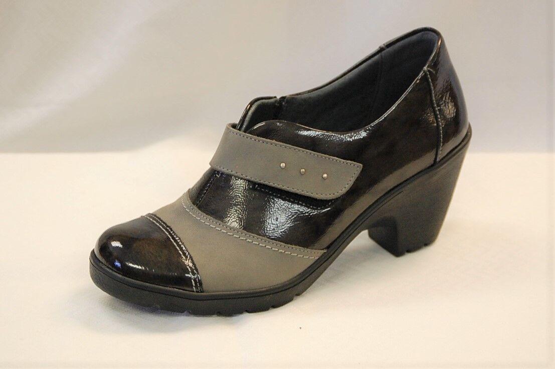 tutti i prodotti ottengono fino al 34% di sconto Spring Step Intuitive Donna  grigio on grigio Patent Patent Patent Leather Shootie Dimensione 40  alta qualità generale