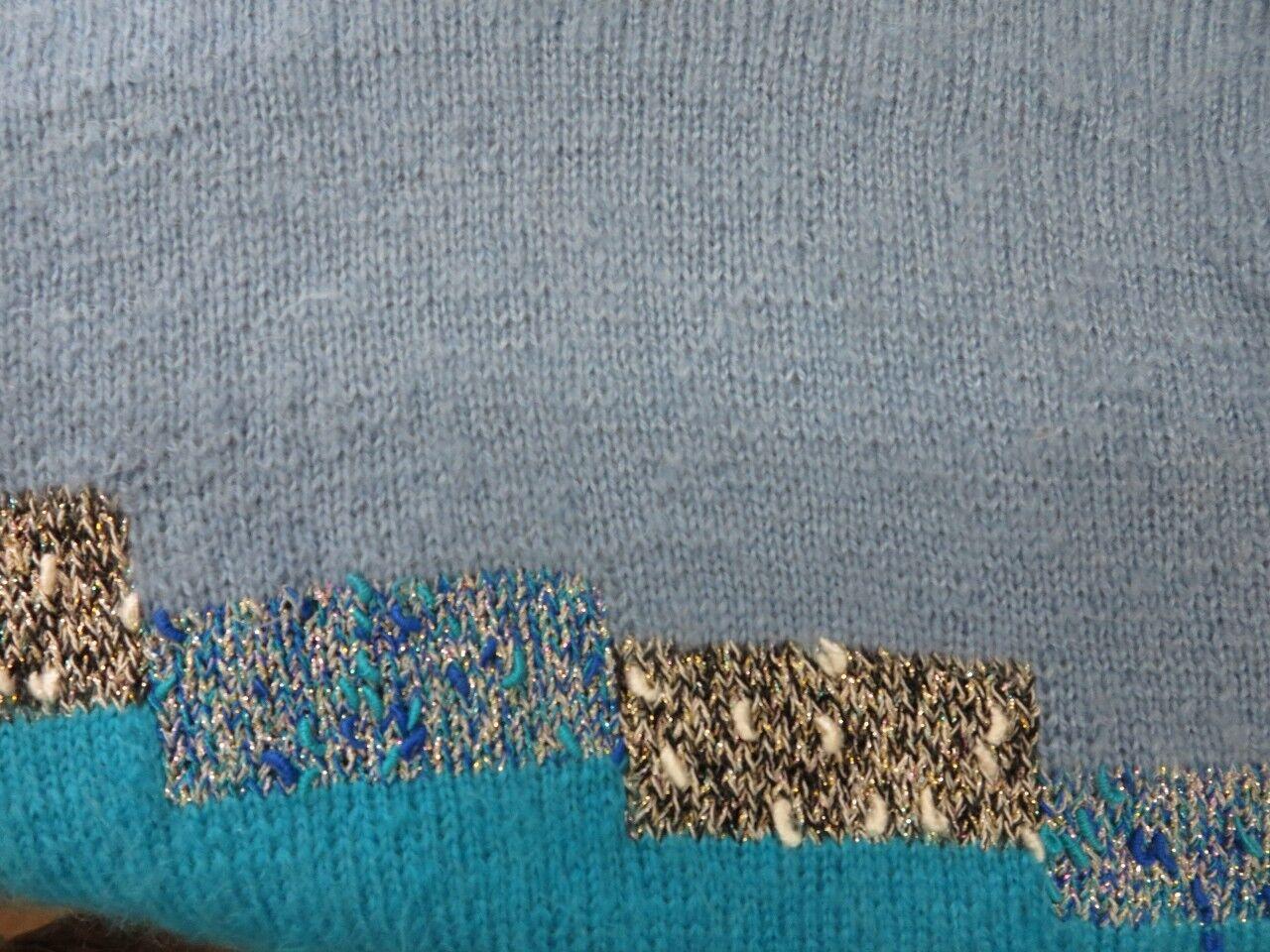 MAGLIA da donna Maglione dolcevita 80er 80er 80er True Vintage knitted jumper Donna 755f3d