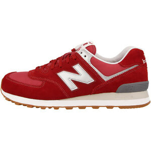 NEW BALANCE ML 574 HRT Scarpe RED GRIGIO ml574hrt sneaker rosse 373 MRL 996 U