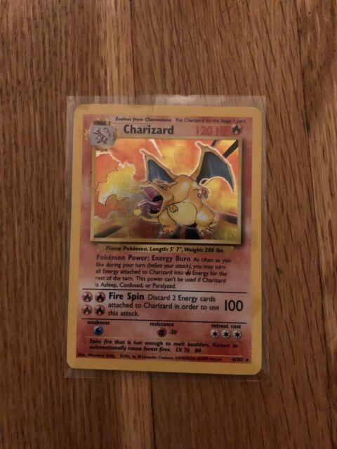 Pokemon TCG Official Mystery Box 1/10 Base Set Charizard 4/102