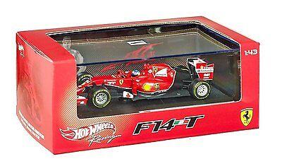 Hotwheels 1:43 BLY69 Ferrari Fórmula 1 F1 F14-T Fernando Alonso 2014 de Metal