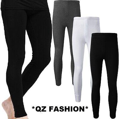 S M L XL XXL 4 Mens Thermal Long John Pants Trousers Winter Ski Underwear