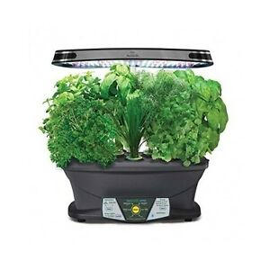 Image Is Loading Indoor Herb Garden Kit Grow Box Led