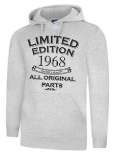 Image Is Loading 51st Birthday Gift Present Year 1968 Mens Hoody