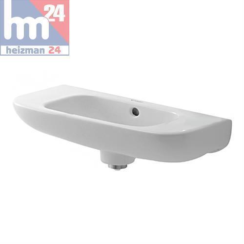 Duravit D-Code Handwaschbecken 50 x 22 cm ohne Hahnloch 0706500000