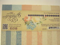 Graphic 45 Precios Memories 6x6 Pattern & Solids Colors36 Papers\3 Each Patter