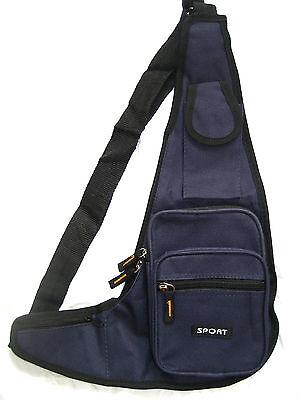 Crossbag Brusttasche Cross Bag Sport  Umhängetasche 5 Fächer Tasche Urlaub NEU