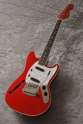 NEW Fender Japan MG/HO MG69 CAR  Candy Apple Red Mustang w/gigbag 4/15