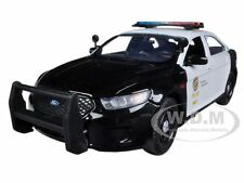 2013 FORD INTERCEPTOR LAPD LOS ANGELES POLICE DEPARTMENT 1/24 MOTORMAX 76948