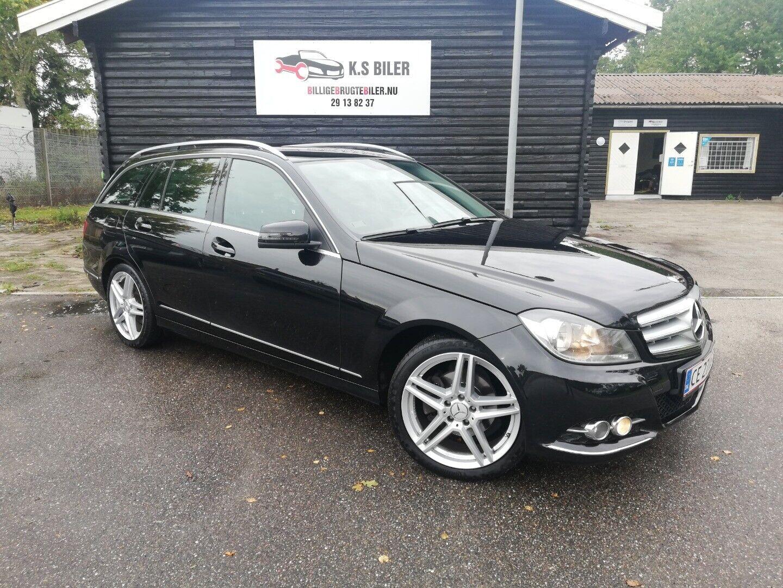 Mercedes C220 2,2 CDi Avantgarde stc. aut. 5d - 169.995 kr.