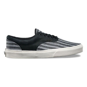 239a2465f2 NEW Vans Era CA ITALIAN WEAVE NUBUCK Black Men s Skate Shoes Size 8 ...
