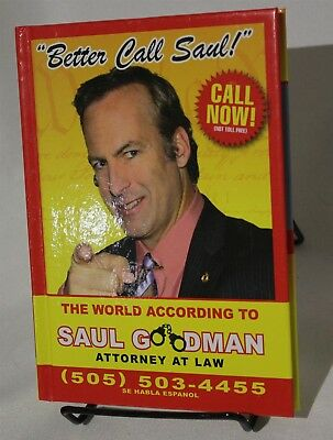 Breaking Bad Better Call Saul Goodman Guide Hardcover Book Humor Companion  | eBay