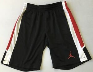 f2855a0afe3c Nike Men s Dri Fit Jordan Shorts CD6255 Black Red White Size M ...