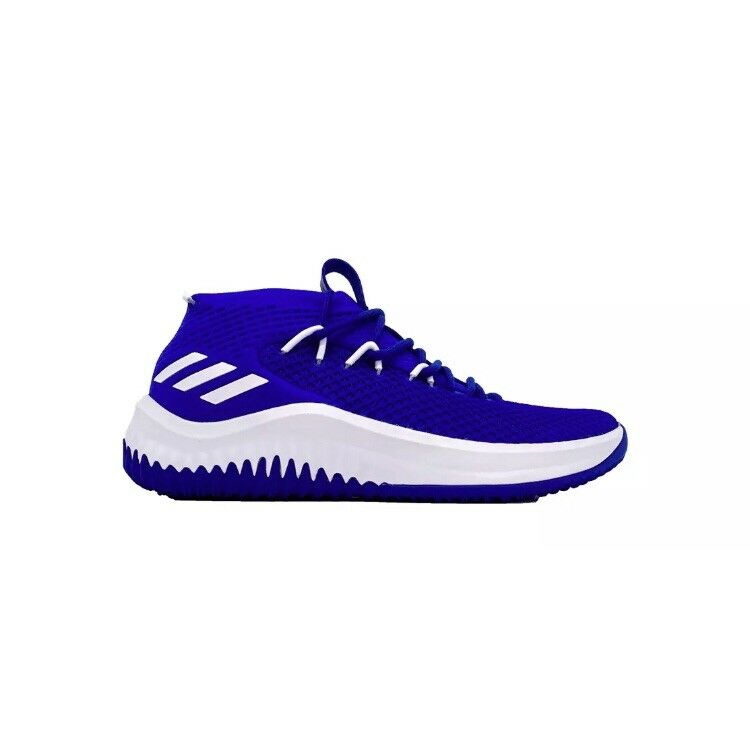 Adidas Dame 4 Kansas Jayhawks Men's Size 18 Lillard Royal bluee White B76009