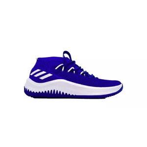 best sneakers c9252 377c0 Image is loading Adidas-Dame-4-Kansas-Jayhawks-Men-s-Size-