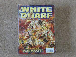 Adaptable White Dwarf Magazine Numéro 243-afficher Le Titre D'origine