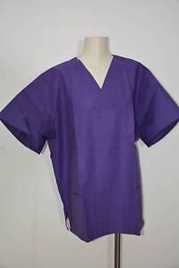 Ärzte- & Schwesternkleidung Ärztebedarf Süß GehäRtet Didi Arbeitsbekleidung Op-kasack Heidelberg Lila Baumwolle Größe 4 51225 Hospita