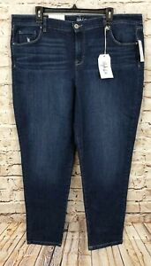 Style-amp-Co-ankle-jeans-womens-size-18-New-stretch-mid-rise-N6