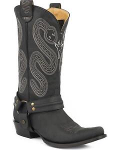 d895f63a3b4 Details about Roper Men's Sting Sidewinder Concealed Carry System Harness  Boot Snip Toe Black
